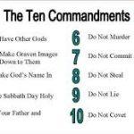 بازشناسی ده فرمان در تورات و قرآن پس از قرون وسطا(۱۴ص)