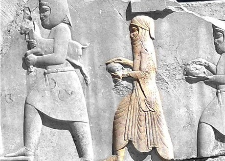 حجاب در ایران باستان